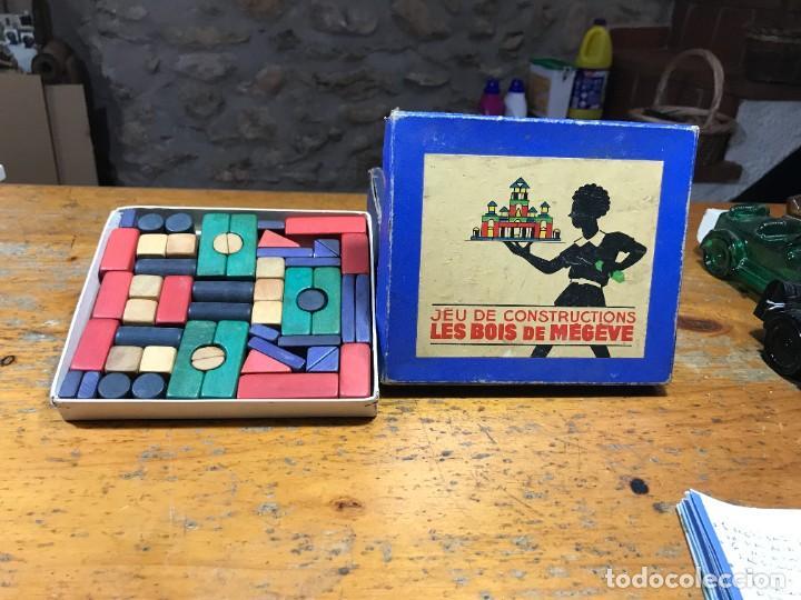 Juegos de mesa: Antiguo juego de construccion - Foto 2 - 222487246