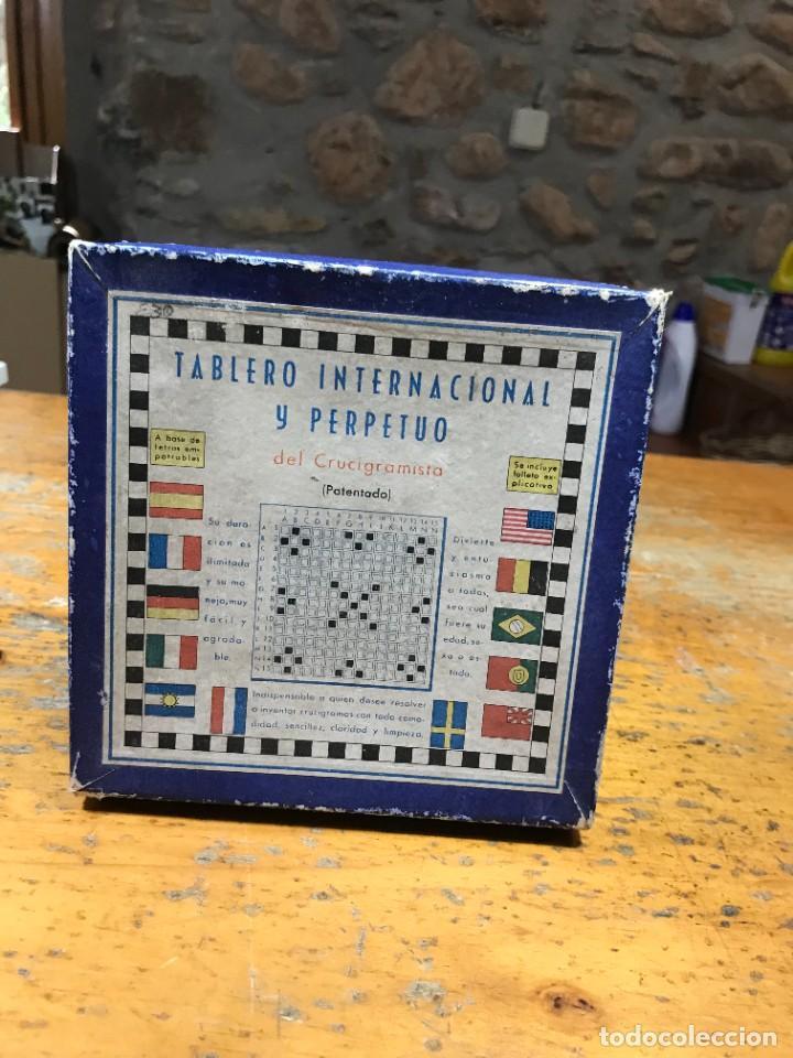 CRUCIGRAMA INTERNACIONAL PERPETUO (Juguetes - Juegos - Juegos de Mesa)
