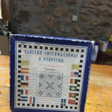 Juegos de mesa: CRUCIGRAMA INTERNACIONAL PERPETUO. Lote 222488037