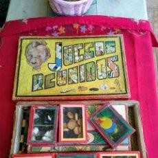 Juegos de mesa: JUEGOS REUNIDOS GEYPER 0. Lote 222572966