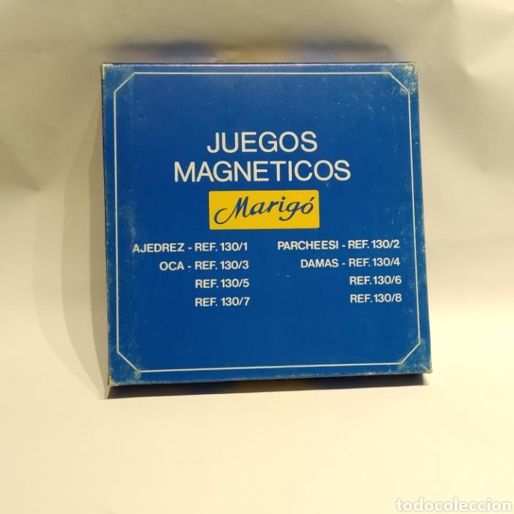 Juegos de mesa: Antiguo ajedrez magnético de viaje de la marca Marigó, referencia 130/1, años 70, nuevo a estrenar - Foto 5 - 222715327