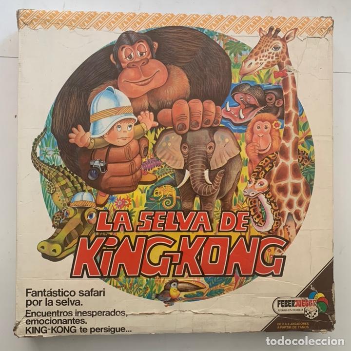 JUEGO DE MESA LA SELVA DE KING-KONG FEBER FEBERJUEGOS (Juguetes - Juegos - Juegos de Mesa)