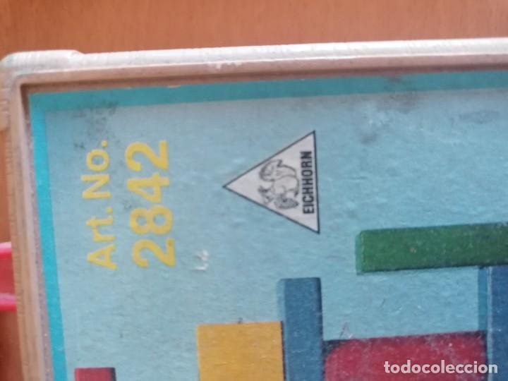 Juegos de mesa: JUEGO MESA CONSTRUCCION MADERA * EICHHORN * EN SU MALETIN * MOD. 2842 * MADE GERMANY - Foto 2 - 222750485