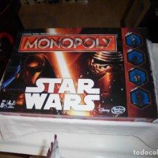 Juegos de mesa: MONOPOLY STAR WARS PARKER HASBRO.CAJA E INSTRUCCIONES EN FRANCES.COMPLETO. Lote 222841180
