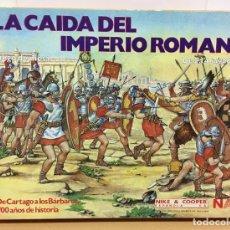 Juegos de mesa: JUEGO DE MESA SERIE WARGAME - LA CAÍDA DEL IMPERIO ROMANO (1985), DE NIKE AND COOPER ESPAÑOLA - NAC. Lote 222848278