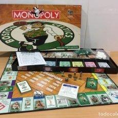 Juegos de mesa: JUEGO DE MESA EDICIÓN COLECCIONISTA - MONOPOLY BASKET NBA BOSTON CELTICS (2006), DE PARKER. Lote 222848541