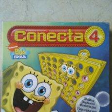 Juegos de mesa: JUEGO CONECTA 4 BOB ESPONJA. Lote 222897060