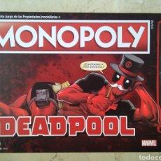 Juegos de mesa: JUEGO DE MESA MONOPOLY DEADPOOL. Lote 222900258