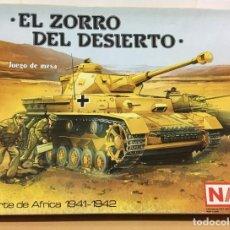 Juegos de mesa: JUEGO DE MESA SERIE WARGAME NAC - EL ZORRO DEL DESIERTO (1987) - NORTE DE ÁFRICA (1941-1942). Lote 223047212