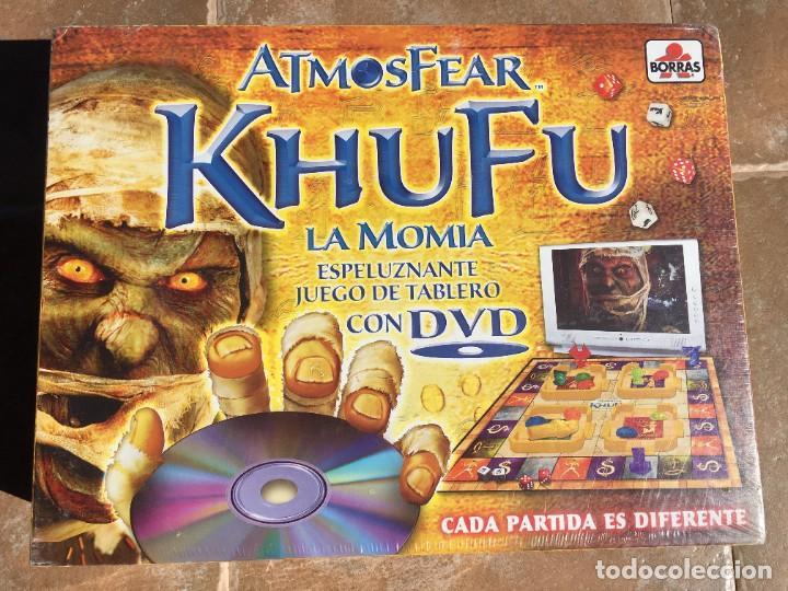 JUEGO DE MESA ATMOSFEAR KHUFU LA MOMIA - NUEVO (Juguetes - Juegos - Juegos de Mesa)