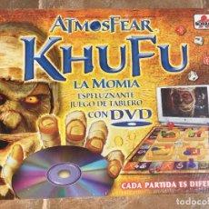 Juegos de mesa: JUEGO DE MESA ATMOSFEAR KHUFU LA MOMIA - NUEVO. Lote 223380016