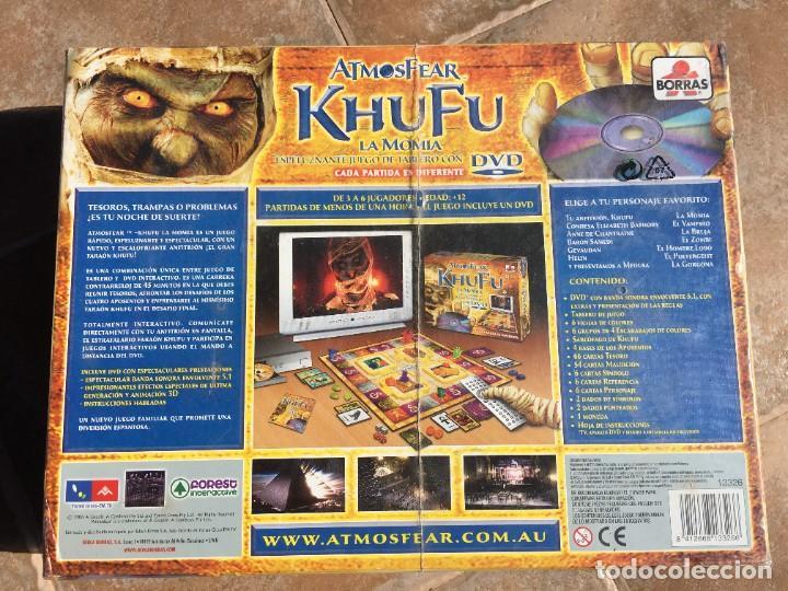 Juegos de mesa: JUEGO DE MESA ATMOSFEAR KHUFU LA MOMIA - NUEVO - Foto 2 - 223380016