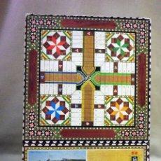 Giochi da tavolo: TABLERO PARCHIS Y AJEDREZ, PUBLICIDAD DE MANTECADOS, POLVORONES, EL MESIAS, SEVILLA, ESTEPA. Lote 223565762