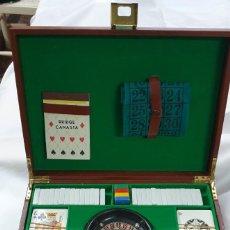 Juegos de mesa: MALETIN DE JUEGO. Lote 223687572