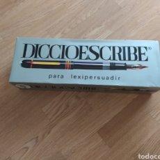 Jogos de mesa: ANTIGUO JUEGO DE MESA DICCIOESCRIBE CASI SIN USAR. Lote 224482463