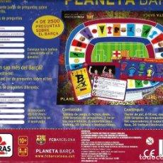 Juegos de mesa: PLANETA BARÇA - JUEGO DE 2500 PREGUNTAS SOBRE EL F.C. BARCELONA - BORRAS 2010 - COMPLETO. Lote 224665243