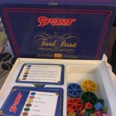 Juegos de mesa: ANTIGUO JUEGO DE MESA--HH TRIVIAL FC BARCELONA SPORT, JUGADO. Lote 224922416