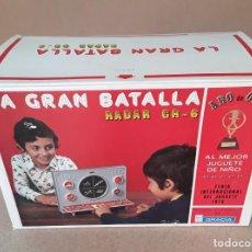 Juegos de mesa: JUEGO LA GRAN BATALLA RADAR GR-6 1976. Lote 225048123