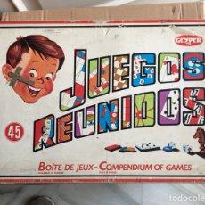 Juegos de mesa: JUEGOS REUNIDOS DE GEIPER. Lote 225131075