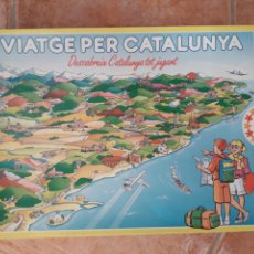 Juegos de mesa: VIATGE PER CATALUNYA EDUCA ANYS 90 COMARQUES DE CATALUNYA I BALEARS. Lote 225142765