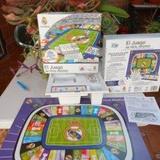 Juegos de mesa: EL JUEGO DEL REAL MADRID. Lote 225499630