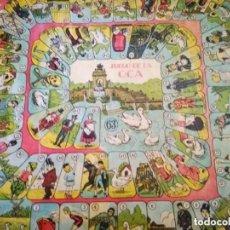Juegos de mesa: JUEGO DE LA OCA Y PARCHÍS - ANTIGUO. Lote 225563365