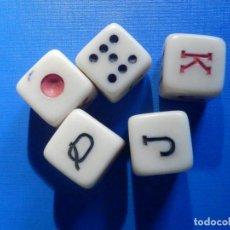 Juegos de mesa: JUEGO DE DADOS - 5 -. Lote 226112206