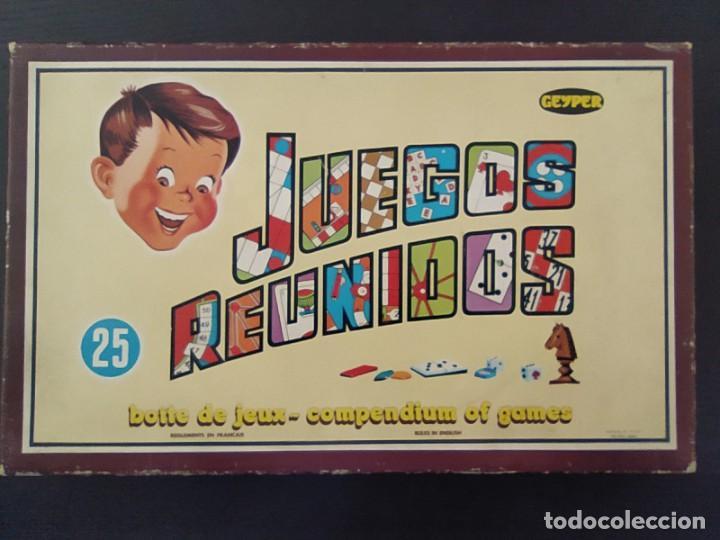 JUEGOS REUNIDOS 25 - GEYPER EN UN ESTADO MUY BUENO COLECCIONISMO (Juguetes - Juegos - Juegos de Mesa)