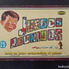 Juegos de mesa: JUEGOS REUNIDOS 25 - GEYPER EN UN ESTADO MUY BUENO COLECCIONISMO. Lote 226338220