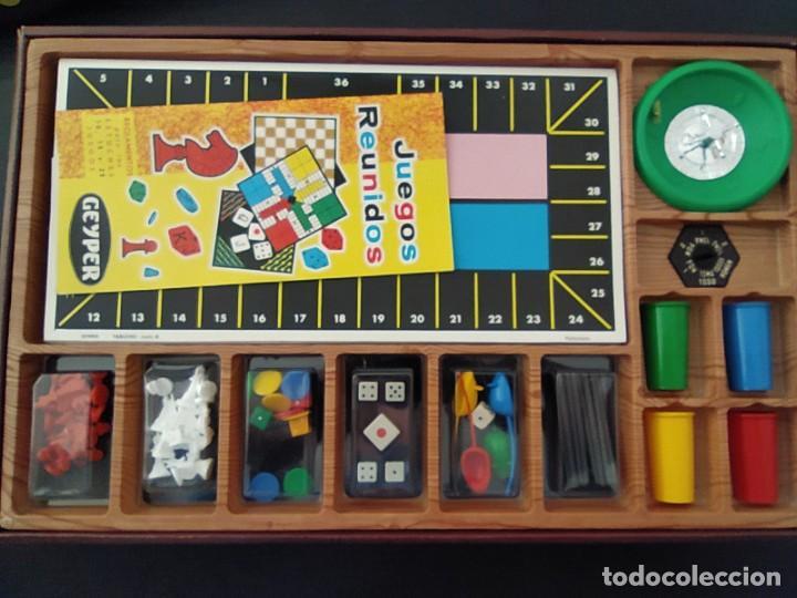 Juegos de mesa: JUEGOS REUNIDOS 25 - GEYPER EN UN ESTADO MUY BUENO COLECCIONISMO - Foto 3 - 226338220