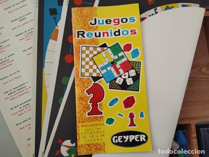 Juegos de mesa: JUEGOS REUNIDOS 25 - GEYPER EN UN ESTADO MUY BUENO COLECCIONISMO - Foto 5 - 226338220