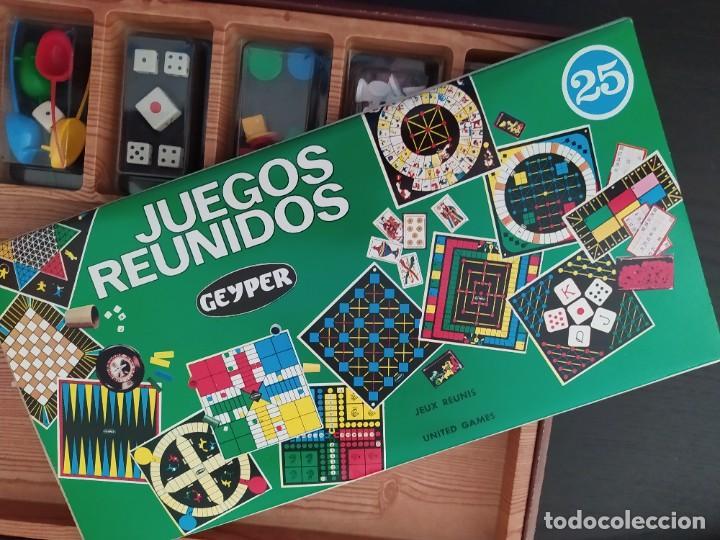 Juegos de mesa: JUEGOS REUNIDOS 25 - GEYPER EN UN ESTADO MUY BUENO COLECCIONISMO - Foto 15 - 226338220