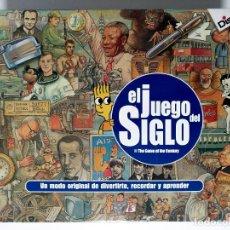Juegos de mesa: EL JUEGO DEL SIGLO ANTIGUO JUEGO DE MESA DE DISET 1999 PERFECTO ESTADO COMPLETO EDUCA RIMA CEFA MB. Lote 226655180