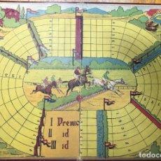 Juegos de mesa: CARTONES JUEGOS MESA ANTIGUOS. Lote 226655400