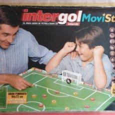 Juegos de mesa: JUEGO INTERGOL MOVISTAR AÑO 2000 INTERVIU FUTBOL CHAPA. Lote 226889695
