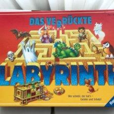 Jeux de table: DAS VERRUCKTE LABYRINTH RAVENSBURGER LABERINTO COMPLETO JUEGO DE MESA KREATEN 2007. Lote 227088340