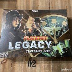 Juegos de mesa: JUEGO DE MESA - PANDEMIC LEGACY - TEMPORADA 0 - Z-MAN GAMES ED ESPAÑOLA. Lote 227214205
