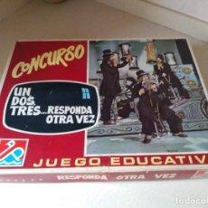 Juegos de mesa: ANTIGUO JUEGO CONCURSO UN DOS TRES REF 1231. Lote 227492665