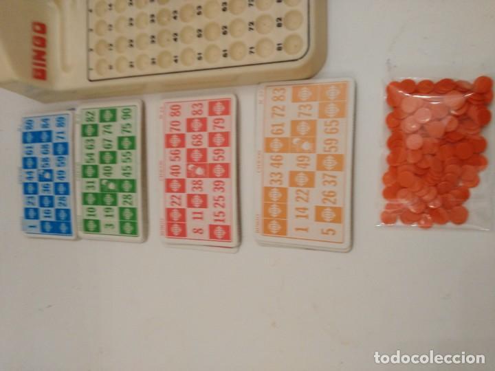 Juegos de mesa: BINGO ELECTRICO AUTOMATICO de sobremesa , AÑOS 80 CHICOS leer descripcion - no funciona - Foto 2 - 227775625