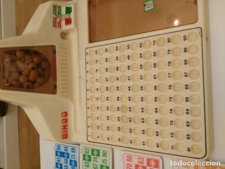 Juegos de mesa: BINGO ELECTRICO AUTOMATICO de sobremesa , AÑOS 80 CHICOS leer descripcion - no funciona - Foto 3 - 227775625