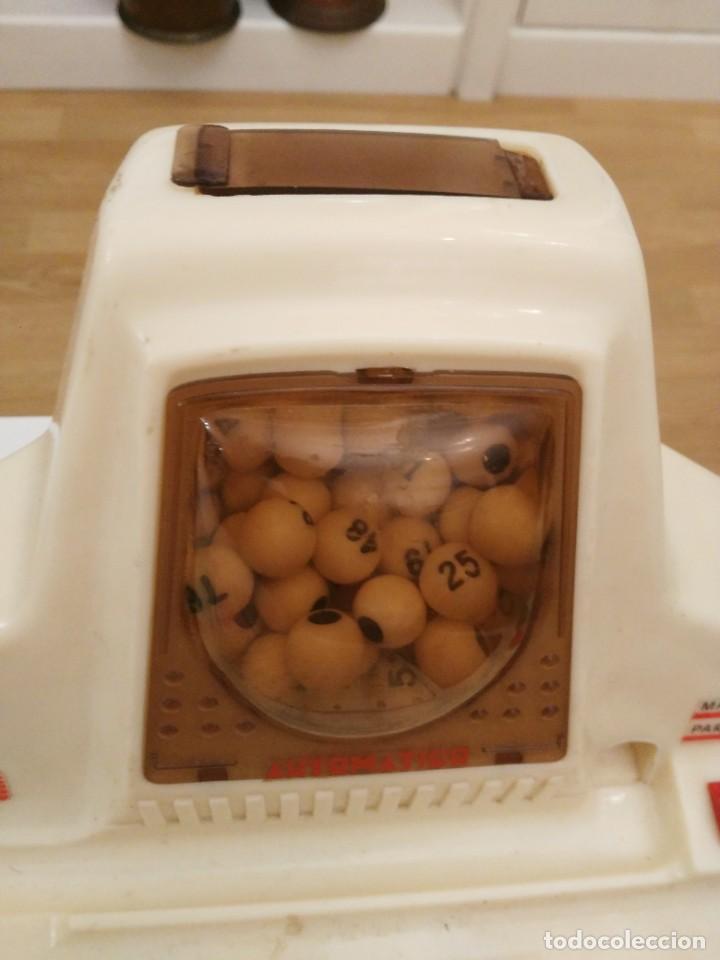 Juegos de mesa: BINGO ELECTRICO AUTOMATICO de sobremesa , AÑOS 80 CHICOS leer descripcion - no funciona - Foto 4 - 227775625