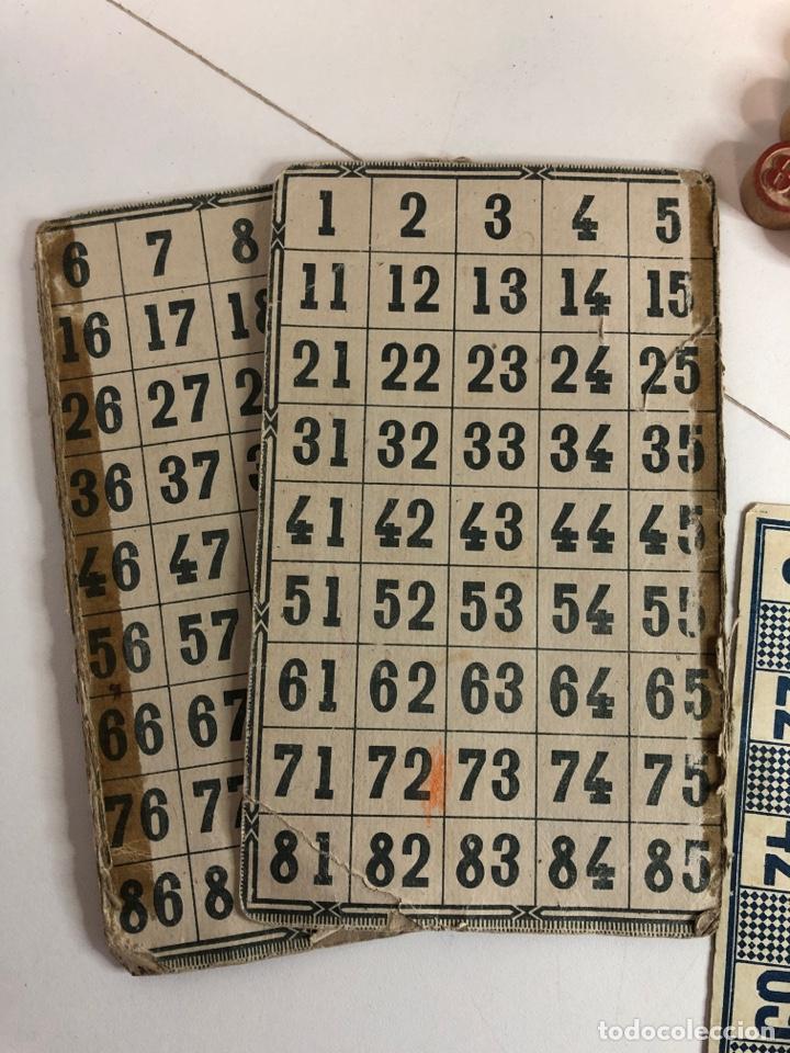 Juegos de mesa: Antiguo juego de bingo LOTTO con todas la fichas originales y cartones - Foto 3 - 227822045