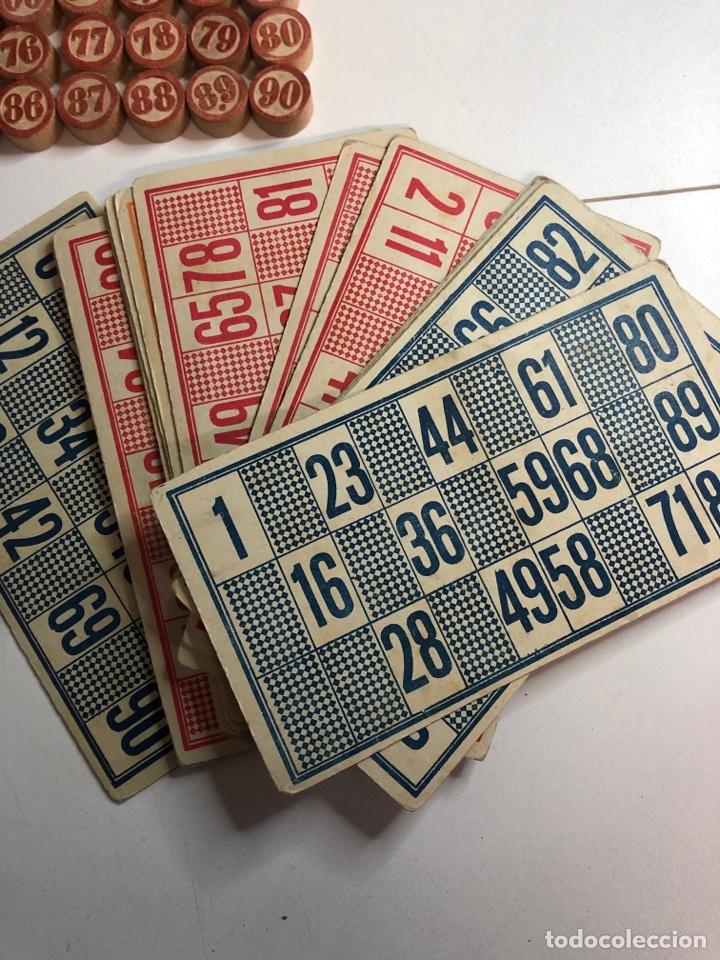 Juegos de mesa: Antiguo juego de bingo LOTTO con todas la fichas originales y cartones - Foto 4 - 227822045