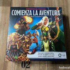 Juegos de mesa: DUNGEONS AND DRAGONS - COMIENZA LA AVENTURA - JUEGO DE MESA - HASBRO. Lote 228171535
