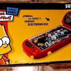 Juegos de mesa: JUEGO SUPER PINBALL THE SIMPSONS. Lote 228515345