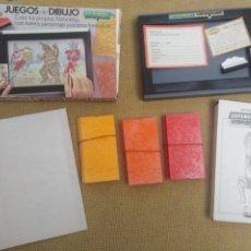 Giochi da tavolo: JUEGO DE DIBUJO GEYPER MONSTRUOS. Lote 228941705