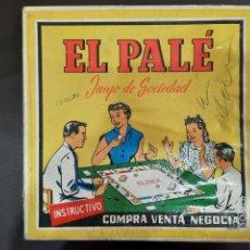 Jeux de table: EL PALÉ.. Lote 229028550