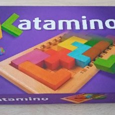 Juegos de mesa: JUEGO DE MESA KATAMINO. ROMPECABEZAS INTELIGENTE , PUZZLE EVOLUTIVO GIGAMIC. Lote 229407260