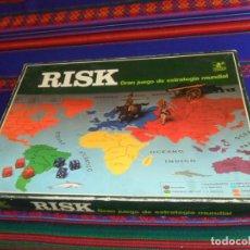 Juegos de mesa: GRAN PRECIO, RISK GRAN JUEGO DE ESTRATEGIA MUNDIAL. BORRAS. AÑOS 70.. Lote 230023965
