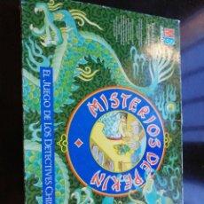 Juegos de mesa: MISTERIOS DE PEKIN MB 1987. Lote 230495050